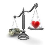 MoneyHeartScales